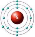 атом серы