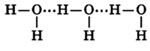 водородные связи в молекуле воды